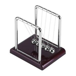 Newton s Cradle Balance Ball Funny Pendulum Steel Ball Desk Toy