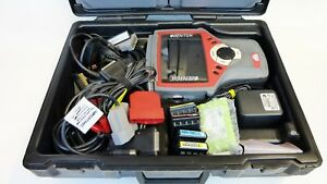 Mactools Mentor Automotive Scanner With Extras Cables Manuals New Battery Case