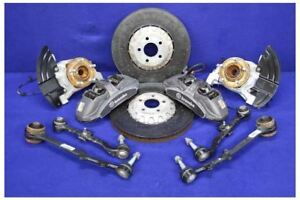 2015 2017 Ford Mustang Shelby Gt350 Front 6 Piston Brake Calipers Rotors Kit