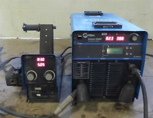 Miller Invision 456mp Pulsed Mig Tig Stick Inverter Welder W S 74d Wire Feeder