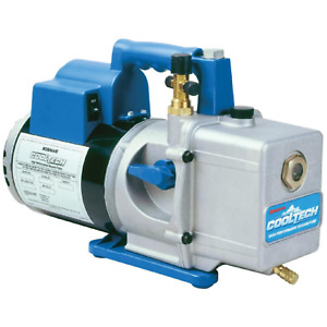 Robinair 15600 6 Cfm 2 Stage Vacuum Pump Ul Listed