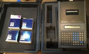 Brady Bradymarker Xc Plus Printer With 4 Boxes Of Paper Manual Booklet