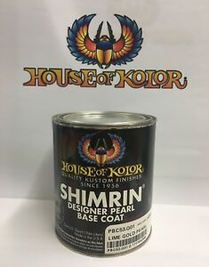 Pbc53 Lime Gold Pearl Shimrin Basecoat Quart House Of Kolor 32 Oz