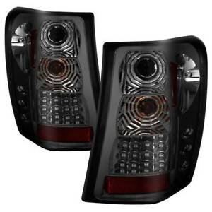 Spyder Led Tail Lights Version 2 Smoke For 99 04 Jeep Grand Cherokee