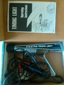 Inductive Timing Light Model 4138 Auto Tune Clean Tested Works
