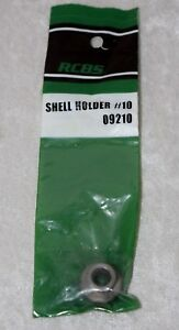 RCBS 09210 New Shell Holder #10 223 rem 17 rem 222 rem 380 auto NIP