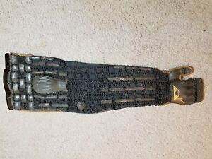 Antique Japanese Samurai Armor Arm Not Katana Wakizashi