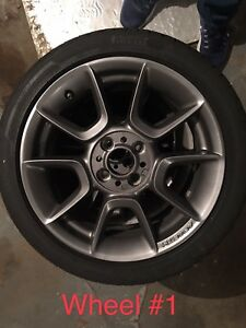 16 Abarth Wheels And Tires