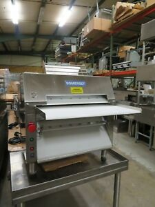 Cdr 2000m Somerset Ind Dough Roller Pizza Dough Roller 20 Stainless Rollers