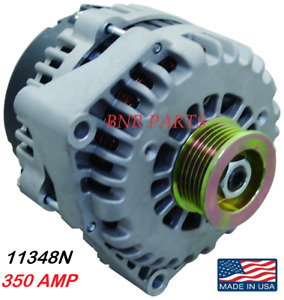 350 Amp 11348n Gmc Chevy Alternator Express Silverado High Output Sierra Classic