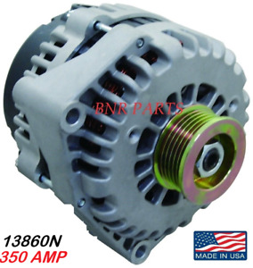 350 Amp 13860n Alternator Chevy Gmc New High Output Suburban Yukon Xl Performanc