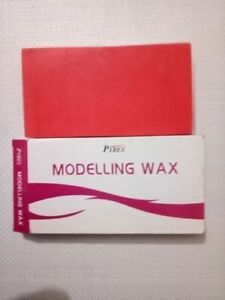 5x Dental Modelling Wax Use For Dentures 12 Sheets Pack By Pyrex 200gm
