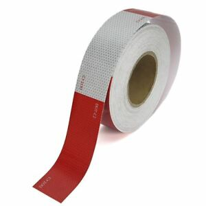 Roll Of Reflective Conspicuity Truck Trailer Safety Tape 2 X 150 Reflector