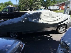 Corvette Car Cover Used But Not Abused Grey Generic No Logo Size Medium