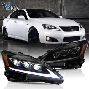 All Led Headlight Fit For Lexus Is250 Is350 Is F 2006 2012 Year Lamps Assembly