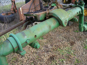 Vintage Oliver 1850 Row Crop Tractor Wide Front Axle Nice