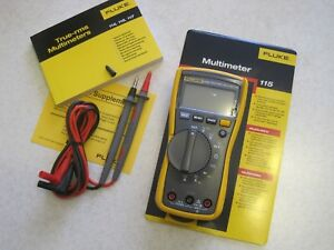 Fluke 115 True Rms Digital Multimeter New
