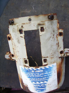 Vintage Ford 4000 Gas Tractor Select O Speed Lower Dash Panel