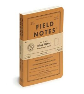 Field Notes Dime Novel Special Edition Books 2 pack 4 1 4 6 1 2 Sealed