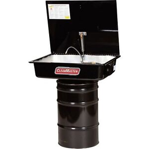 Cleanmaster 230 30 gallon Solvent Drum Mounted Parts Washer Model Cm200