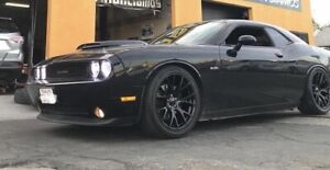 20 Hellcat Staggered Package Az850 Tires Wheels Gloss Black Charger Challenger