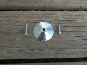 1 New Mounting Hardware Plate Cup For Cragar Weld Star Wire Wheel Center Cap