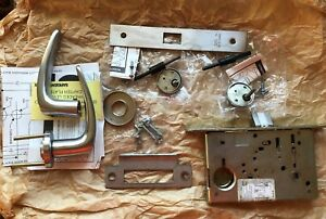 Sargent Assa Abloy 8200 Mortise Lock 8265 26d Stainless Steel Finish