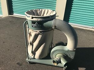 2 Delta Dust Collectors Model 50 850 Used But Great Condition 200 00 Each