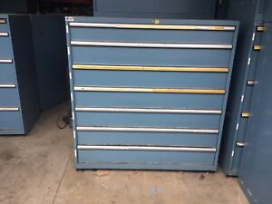 Lista 7 Drawer Tool Cabinet Great Condition