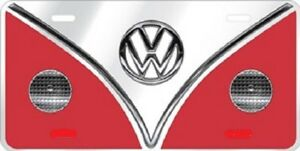 Volkswagon Vw Embossed Metal Novelty License Plate Tag