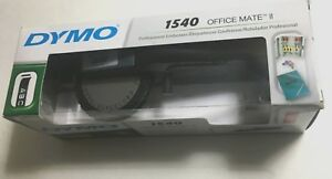 Dymo 1540 Office Mate Ii Profesional Embossing Tape Vintage Label Maker