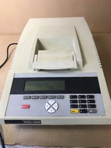 Perkin Elmer Geneamp Pcr System 2400 Cycler Thermal N8030001 Sl