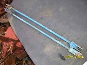Vintage Ford 1210 3 Cyl Diesel Tractor Brake Pedal Rod Set