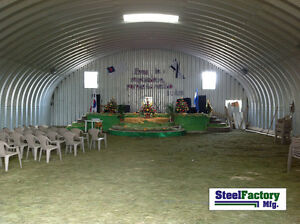 Steel Factory S30x30x14 Metal Storage Building Horse Barn Prefab Arch Panel Kit