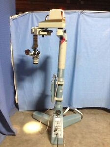 Weck Surgical Microscope Good Condition Working Properly Footswitch Fair