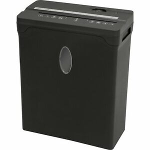Brand New Sentinel 8 sheet Cross cut Shredder Paper Credit Cards Fx81b Black
