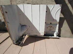 1960 Rambler Wagon Left Rear Inner Frame Panel Oem Amc Body Drivers Frame Patch