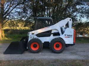 2012 Bobcat S 770 Skid Steer Loader Cat Case John Deere Takeuchi Kubota
