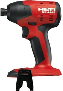 Hilti Impact Driver 1 4 In Hex 22 volt Lithium ion Brushless Cordless Tool Only