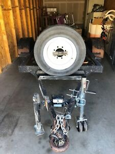 Travel Tow Equipment Trailer 90x54 Title registration Doc Avail price Reduced