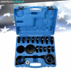 Bearing Removal Adapter Tool Puller Pulley Kit 23pcs Fwd Front Wheel Drive