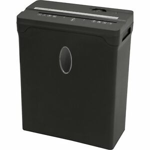 Brand New Sentinel 6 Sheet Cross cut Shredder Paper Credit Cards Fx61b Black