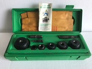 Greenlee 1806 Manual Knock Out Punch Set 1 2 To 2 Conduit Slug Buster