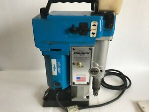Hougen Hmd505 Two Speed Quill Fed Drill With Coolant Bottle Magnet Drill 120vac