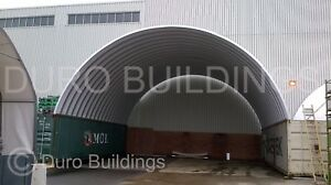 Durospan Steel 40x40x14 Metal Arch Diy Building Container Cover Open Ends Direct