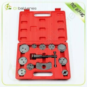 12pc Universal Car Disc Brake Caliper Wind Back Brake Piston Compressor Tool Kit