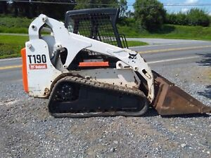 2007 Bobcat T190 Track Skid Steer Loader 2280 Hours Ctl