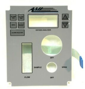 Ami Advanced Micro Industries Oxygen Analyzer Model 2010br Corded Touchscreen Ig