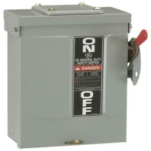 Ge 200 Amp 240 volt Fusible Outdoor General duty Safety Switch