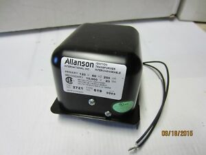 2721 619 Allanson Ignition Transformer For Wayne Burner